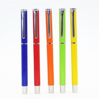 Fountain Pens Metal 0.4mm Wholesale- Pretty 801 All 6 colors Finance business office Fine nib fountain Pen New