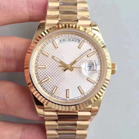 Wholesale Mens Watche - Men's Luxury Best Edition Watch NOOB Factory 40mm Day Date President 228238 man Dial Rose Gold Swiss CAL.3255 Movement Automatic Mens Watche