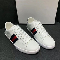 Wholesale Luxury Leather Sport Shoes Men - Personality and fashion famous Luxury Brands lovers lace-up sports running shoes with top quality genuine leather men women casual sneakers