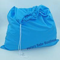 Wholesale Diaper Pails - Wholesale-New coming 1pc free shipping plain color one pocket wet dry diaper bag, waterproof pail liner 50cm*60cm 8colors for your choice