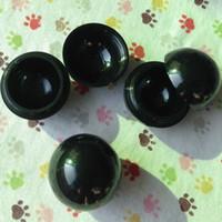 Wholesale Free Lipstick Samples - 10g cream jar black lipstick jar Empty Spherical Round lip gloss jar Mini sample container free shipping