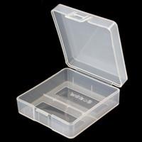 Wholesale 9v battery holder plastic resale online - High Qyality Soshine Portable Hard Plastic Case Holder Storage Box for x V Batteries LEF_307