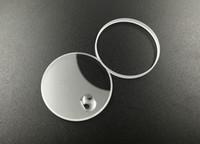 relógio reparo de vidro venda por atacado-Frete grátis 1 pc plano de vidro de safira para R-16233 / R-68173 / R-69173 com calendário e junta para reparação de relógio