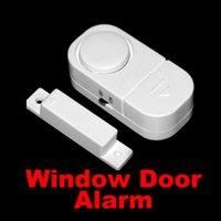 hırsız hırsız alarm sistemi toptan satış-100 adet Yeni Kablosuz Hareket Sensörü Dedektörü Ev Kapı Pencere Güvenlik Hırsız Alarm Ücretsiz DHL FEDEX Nakliye 0001