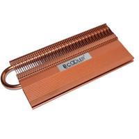 disipador de calor de enfriamiento de cobre al por mayor-Al por mayor-Puro tubo de calor de cobre de gama alta Memoria de refrigeración RAM refrigerador enfriador de memoria RAM disipador de calor PCcooler R6 B12