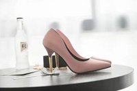 Wholesale Factory Wedding Shoes - Women High Heel Shoes New Europe the United States fashion sense of shallow mouth ladies single shoes nightclub high heels factory direct
