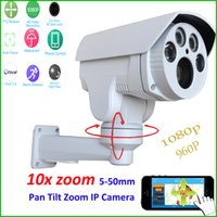"Wholesale Varifocal Outdoor Infrared Cctv Camera - 1 2.8"" for Sony Cmos Imx322 +hi3516 Cctv Security Ptz Ip Camera Hd 1080p 2mp 10x Motorized Auto Zoom 5-50mm Varifocal Lens Ir 60m"