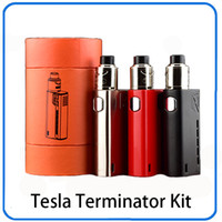набор терминаторов оптовых-Набор стартера Терминатора 90W Tesla или с клеткой GX2/4 0268057-1 бака Antman 22 RDA одиночной 18650