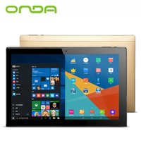 Atacado- Onda OBook20 Plus Tablet PC 10,1 polegadas 1920 * 1200 IPS Screen 4GB + 64GB Windows10 Android 5.1 Intel Z8300 WiFi IPS OTG Hdmi USB