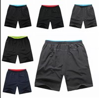 Running outdoor shorts for men - Plus size L XL mens quick dry Running Shorts pants NK fashion Zipper Pocket Outdoor Men s Sports Short Pants for Men Gym Fitness wear