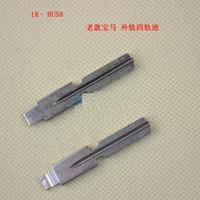 Wholesale Old Key Blank - 10pcs Original Engraved Line Key for old BMW 2 in 1 LiShi HU58 Scale Shearing Teeth Blank car Key Locksmith tools