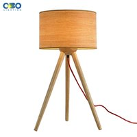 e27 no ac modern bedroom bedside wooden table lamp e27 lamp holder 110240v parlor
