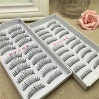 Wholesale False Trees - Professional False Eyelash 10pairs box Combination For Lengthen Eyelash Beauty Natural Tree Cosmetic Lash beauty product Product