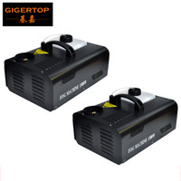 2pcs / lot 1500W Up Shot DMX Fog Machine AC110V-240V Vertical Fogger Up Controlador remoto Disco efeito de fase controle remoto