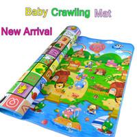 Wholesale Crawling Foam Mat - Wholesale- New Baby Kid Toddler Crawl Foam Soft Play Game Mat Carpet Carpet Activity Toys For Children
