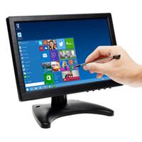 Wholesale Touch Screen Car Vga - 2017 IPS Touch Screen Ultra Thin 1280*800 Car Video Monitor Display+Stylus Pen With BNC AV HDMI VGA AV-IN