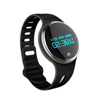 Wholesale Bracelet Bluetooth Sms - MISSYOU E07 waterproof smart bracelets Bluetooth 4.0 Pedometer Calorie Sleep Monitor Call SMS Reminder Pedometer Sports Bracelet