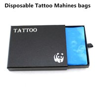 Wholesale Disposable Tattoo Machine Gun Bags - Wholesale-200 box Disposable Tattoo Machines Bags for Tattoo Gun Ink Kit