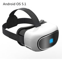 Commercio all'ingrosso - Tutto in un video virtuale virtuale di Google Cardboard 3D di vetro Vetro 5,1 Corea del quadrato 1 + 8G Smart WIFI TF carta Bluetooth 5inch Schermo