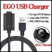 Wholesale Ego Twist Mod - ECIG EGO USB Charger for EGO T 510 EVOD TWIST Vision Spinner Vaporizer Mod Electronic Cigarettes Battery Esmart Charger 100pcs lot DHL