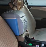 Wholesale Mini Refrigerator Portable Car Fridge - 12V Portable 7.5L Mini Car Refrigerator Cooler Warmer Fridge for Lincoln MKC MKS MKT MKX MKZ Continental Navigator
