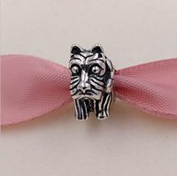 Wholesale pandora animals for sale - Authentic Sterling Silver Beads Scottie Dog Charm Fits European Pandora Style Jewelry Bracelets Necklace I love dogs gift