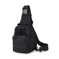 Men sports busts - Tactical Outdoor Camouflage Chest Pack Sport Single Shoulder Man Crossbody Bag camping Fishing Hunting Bust bag