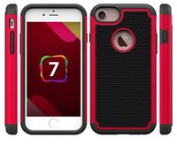 футляр для мобильного телефона оптовых-Бесплатная доставка 8colours футбол pattern мобильный телефон силиконовый чехол для iphone 7 Пластиковые жесткий чехол