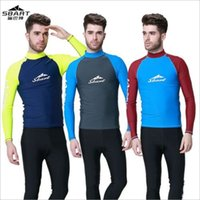 Wholesale Equipment For Clothing - Dropshipping Scuba Dive Wetsuit Jacket For Men Spearfishing Wet Suit Top Surf Diving Equipment Spearfishing Clothes photo