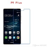 Wholesale Huawei Ascend Plus Phone - 9H Tempered Glass For Huawei Ascend P9 Plus P9+ phone film Phone Protective touch screen protector Free shipping