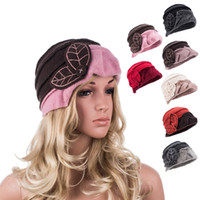 Wholesale Womens Classic Ladies s Gatsby Flapper Girl Style Wool Bucket Cloche Beanies Winter Cap Hat A375
