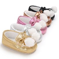 Wholesale Baby First Wlakers Baby Shoes Warm Winter Toddler Shoes Cute Non slip Shoes for Babies