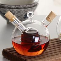 Glass Spice Eco Friendly Wholesale  ELETON Delicate Western Restaurant  Refractory Glass Caster Oil Vinegar Bottle