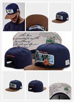 ingrosso nuovi berretti da baseball blu-2017 Nuovo arrivo Cayler and Sons Caps Snapbacks Berretto da baseball per uomo Donna Snapback Cayler and Sons cappelli di snapback Navy Blue Hawai Hats Cap