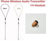 Wholesale Spy Wireless Earphones - Mini Spy Earphone Wireless Hidden inductive neckloop for Cell Phone