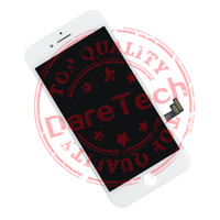 Wholesale Wholesale Phone Lcd Replacement - For Phone 7 & iPhone 7 plus White black Grade A +++ LCD Display Touch Digitizer Complete Screen with Frame Full Assembly Replacement