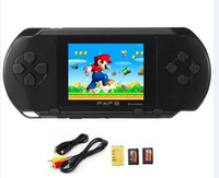 Wholesale Nes Lcd - 2017 Hot Game Player PXP3(16Bit) 2.5 Inch LCD Screen Handheld Video Game Player Console 5 Colors Mini Portable Game
