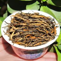 fazer chá preto venda por atacado-250g Chinês Yunnan Clássico DianGong chá um broto de uma folha de agulhas de pinheiro feitos à mão chá preto chá de alta qualidade frete grátis