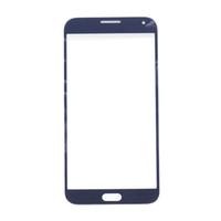 toque samsung e5 al por mayor-50 Unids Para Samsung Galaxy E5 E500 E500F E500H E500M Frontal Lente de Cristal 5.0