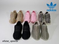 Wholesale Boys Diving - Kids Adidas Yeezy Boost 350 Turtle Dove Pirate Black Moonrock Oxford Tan Pink Boy Girls Running Shoes Children Kanye West Yezzy 350 Yeezys