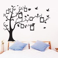Wholesale Self Adhesive Photo Frame - Wall Stickers Photo Frame Tree Shape Sticker Used For A Living Room Bedroom Wallpaper DIY Removable Decor Decal 2 5gl A