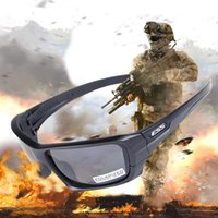 Wholesale Ess Red - ESS 4 lens Rollbar Polarized Sunglasses UV protection Military O Glasses TR90 Army Google Bullet-proof Cycling Eyewear vole JBR