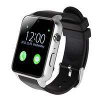 medidor de pasos al por mayor-Relojes inteligentes Bluetooth deporte Tarjeta de foto impermeable Calibrador de paso ritmo cardíaco medidor reloj teléfono compañero niños gps rastreador muñeca
