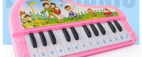 Wholesale Childhood Educational Toys - Children's Toys Music Instrument 24 key Keyboard Infants And Young Children Early Childhood Educational Science And Education Toy Piano
