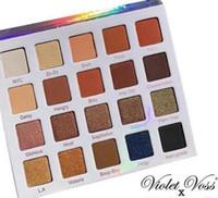 Wholesale pro 12 colors eyeshadow palette online - HOT Makeup Violet Voss X Nicol Concilio Pro Eyeshadow Palette Eye Shadow Color Palette DHL