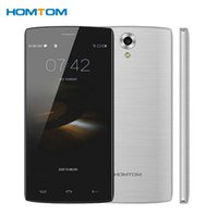 Wholesale Android Phone Dual Cam 8mp - Homtom HT7 Pro 4G Mobile Phone 5.5 Inch HD IPS Mtk6735 Quad Core Android Mobile Phone 5.1 2GB RAM 16GB ROM 8MP Cam Dual Sim Smartphone