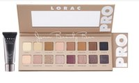 Wholesale lorac eyeshadow primer - IN Stock NEW Hot LORAC PRO 3 Palette Eye Shadow Primer EyeShadow 16 Colors Palette High quality Shipping