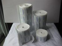 Wholesale Plaster Patches - 3pcs 5cm*10m 10cm*10m 15cm*10m 20cm*10m 25cm*10m non-woven adhesive tape rolls grid block patch plaster dressing sterilization no sensitive