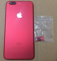 Wholesale New Products For Iphone - Free Shipping Airey New Product Red Color iPhone 6 6 Plus 6S 6S Plus Back Cover Rear Housing Replacement like iPhone 7 7+