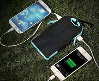 Energienbank 20000mA Solar Power Mini tragbare externe Batterie für iphone Samsung LG Xiaomi Android Handys
